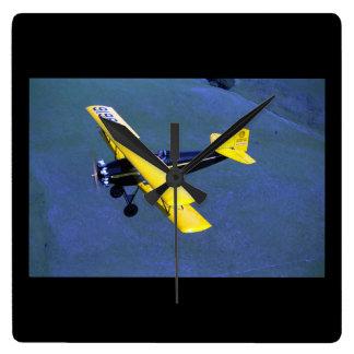Fleet, Model 1, 1929, Schellville_Classic Aviation Square Wall Clock