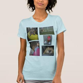 Fleet Norfolk Terrier Montage t-shirt
