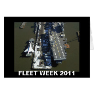 FLEET WEEK 2011 CARD