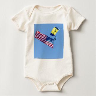 Fleet week  San Francisco 2015 Baby Bodysuit
