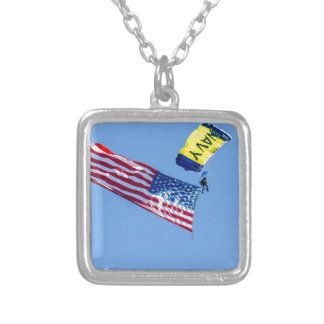 Fleet week  San Francisco 2015 Silver Plated Necklace
