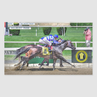 Fleetphoto Finish Rectangular Sticker