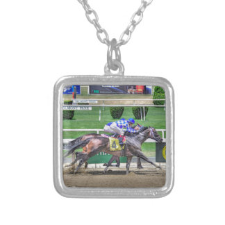 Fleetphoto Finish Silver Plated Necklace