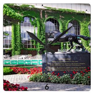 Fleetphoto Park Square Wall Clock