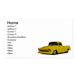 Fleetside Pickup Double-Sided Standard Business Cards (Pack Of 100)