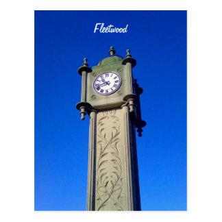 Fleetwood Clock Tower Postcard