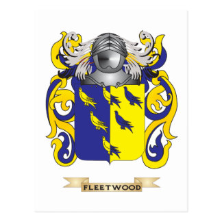 Fleetwood Coat of Arms Postcards