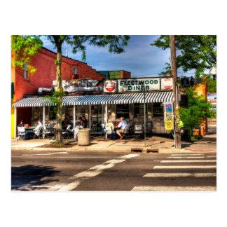 Fleetwood Diner - Ann Arbor, Michigan Postcard