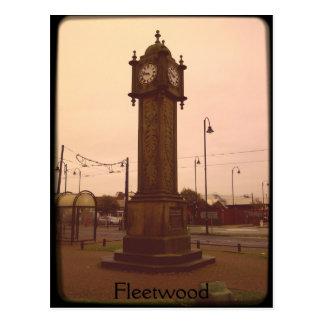 Fleetwood, Lancashire Postcard