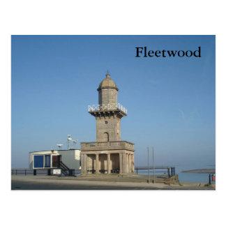 Fleetwood Lower Lighthouse Postcard