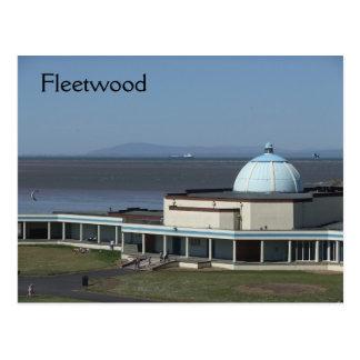 Fleetwood Marine Hall Postcard