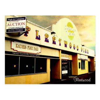 Fleetwood Pier Postcard