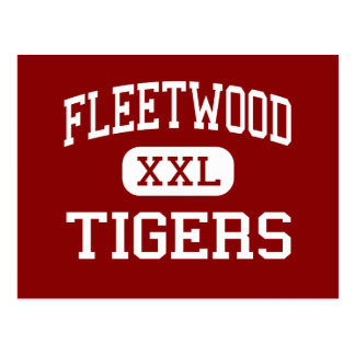 Fleetwood - Tigers - Middle - Fleetwood Post Cards
