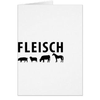 Fleisch icon card