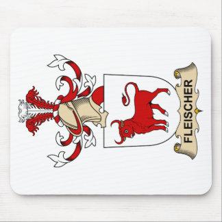 Fleischer Family Crest Mouse Pad