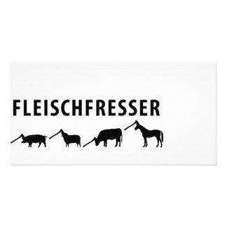 Fleischfresser icon card