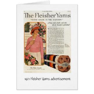 Fleisher cuenta un cuento el anuncio tarjeta de felicitación