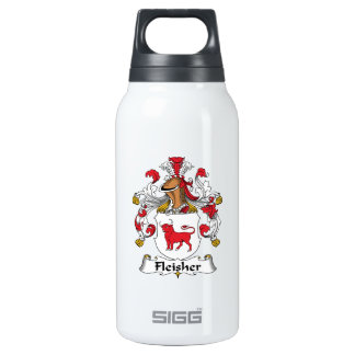 Fleisher Family Crest Insulated Water Bottle