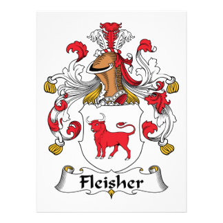 Fleisher Family Crest Personalized Announcements