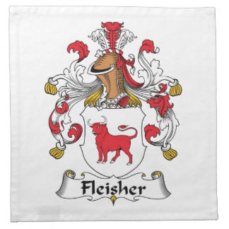 Fleisher Family Crest Printed Napkins