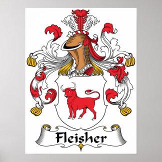 Fleisher Family Crest Poster