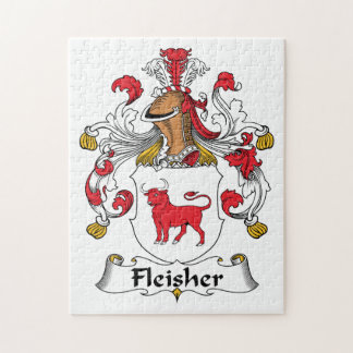 Fleisher Family Crest Puzzles