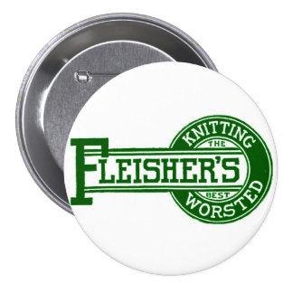 Fleisher's Yarn logo Button