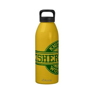 Fleisher's Yarn logo Reusable Water Bottle