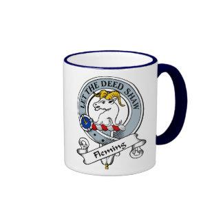 Fleming Clan Badge Mugs
