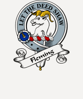 Fleming Clan Badge Tee Shirt