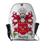 Fleming Family Crest Courier Bag
