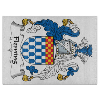 Fleming Family Crest Cutting Boards