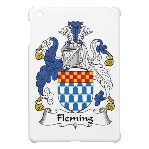 Fleming Family Crest iPad Mini Cases