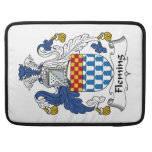 Fleming Family Crest MacBook Pro Sleeves