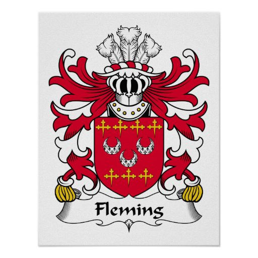 Fleming Family Crest Posters
