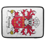Fleming Family Crest Sleeves For MacBook Pro