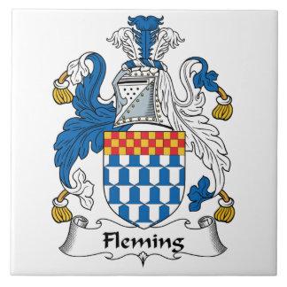 Fleming Family Crest Tile
