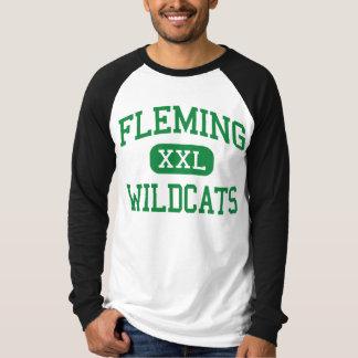 Fleming - gatos monteses - alto - Fleming Colorado Remera