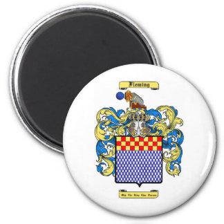 Fleming (irish) 2 inch round magnet