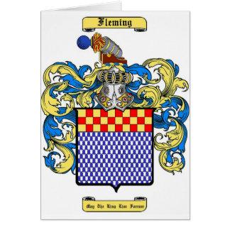 Fleming (irish) card