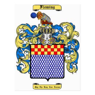 Fleming (irish) postcard