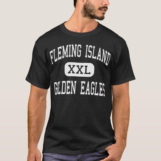 FLEMING ISLAND - GOLDEN EAGLES - Orange Park T-Shirt