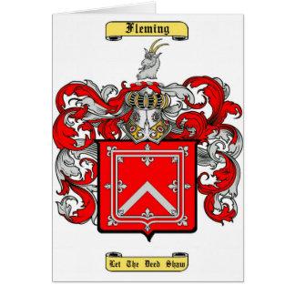 fleming (scottish) card