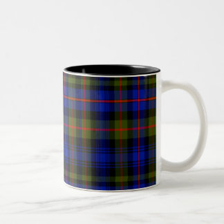 Fleming Scottish Tartan Two-Tone Coffee Mug