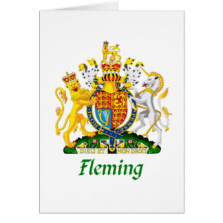 Fleming Shield of Great Britain Card