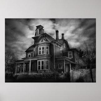- Flemington, NJ - ciudad fantasmagórica Póster
