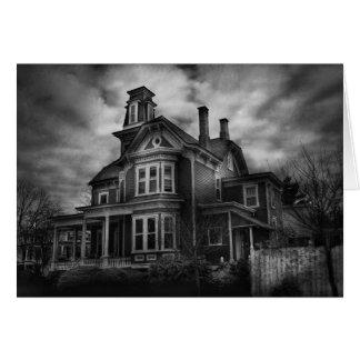 - Flemington, NJ - ciudad fantasmagórica Tarjeta De Felicitación