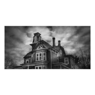 - Flemington, NJ - ciudad fantasmagórica Tarjeta Fotografica Personalizada