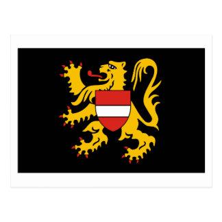 Flemish Brabant Flag Postcard