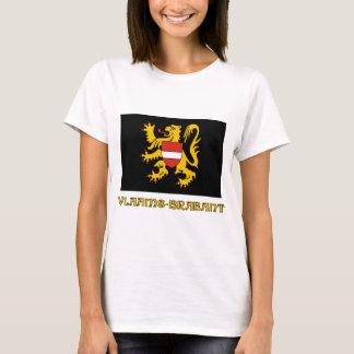 Flemish Brabant Flag with Name T-Shirt